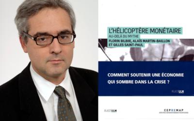« L'hélicoptère monétaire au-delà du mythe », Gilles Saint Paul, Florin Bilbiie et Alaïs Martin-Baillon – Mai 2021
